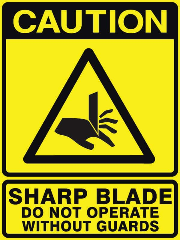 CB-20 Sharp Blade