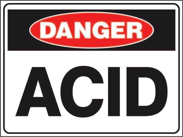 DS-49 Hazardous Waste-acid