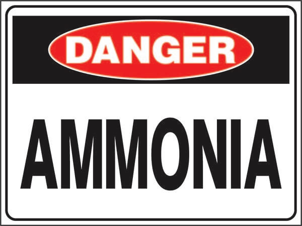 DS-49 Hazardous Waste-ammonia