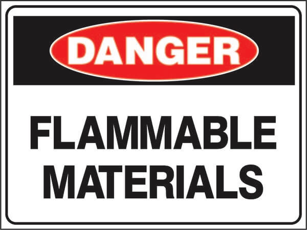 Flammable-Material