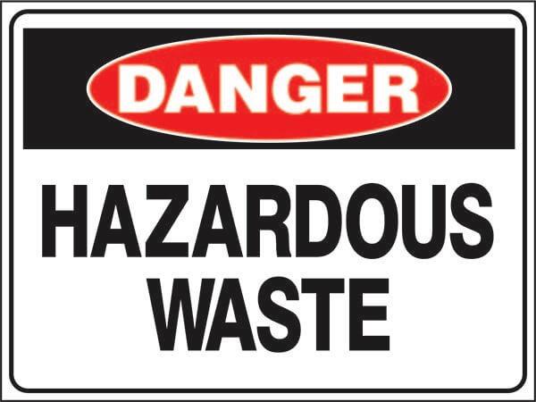 Hazardous-Waste-Signsmart-Danger-signs