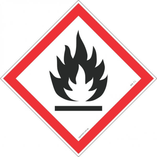 FLAME GHS F-L-shop-hazchem-signs