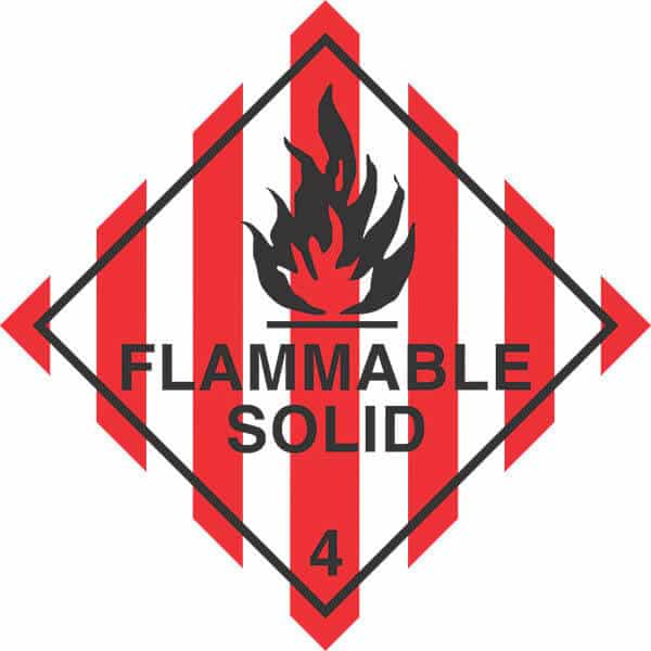 HCL4.1 - signsmart-flammable-solid-4-signs