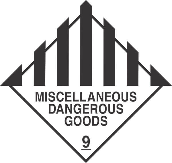 HCL9 - signsmart-miscellaneous-dangerous-goods-signs