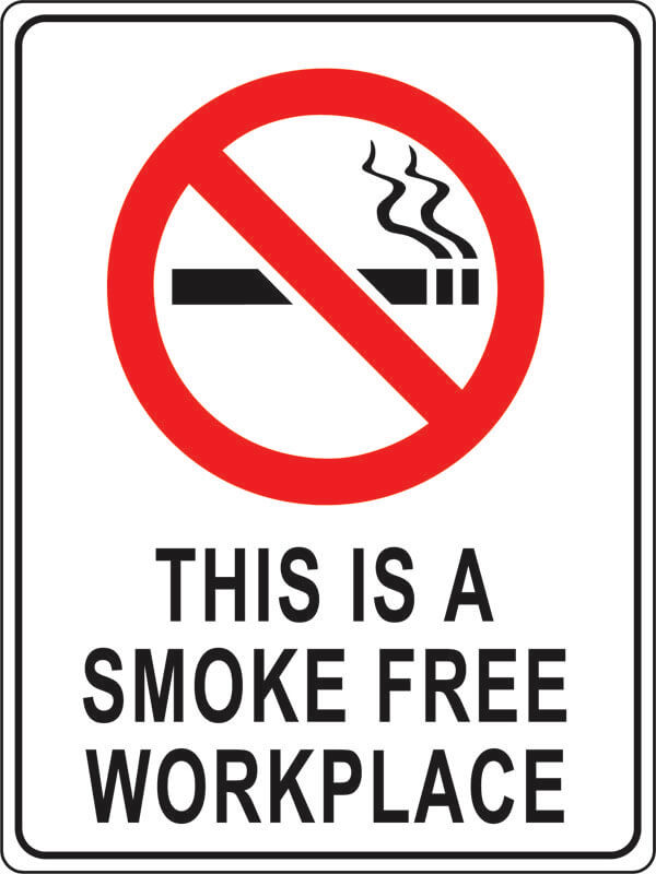 PS-1 this-is-a-smoke-free-workplace