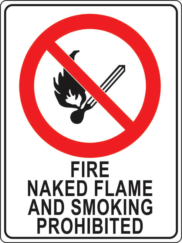 PS-1 fire-naked-flame-smoking-prohibited