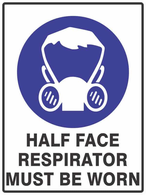 SM17 HALF FACE Respirator- signsmart - signs