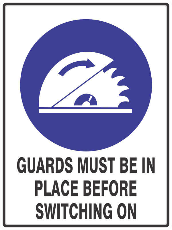 SM19 GUARDS - signsmart - signs