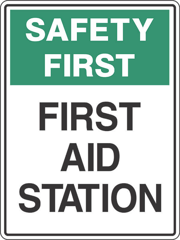 SS8 FIRST AID STATION - signsmart - signs