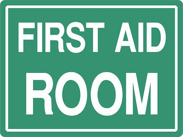 SS9 FIRST AID ROOM - signsmart - signs