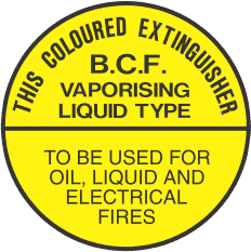 ELS3 YELLOW CIRCLE - signsmart-this-coloured-extinguisher-bcf-signs